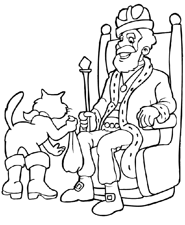 Coloriage Chat Botte A Imprimer.Chat Botte Coloriage Laborde Yves